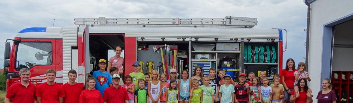 Ferienprogramm – Rätselspaß bei der Feuerwehr