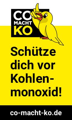CO macht K.O. - Schütze dich vor Kohlenmonoxid!