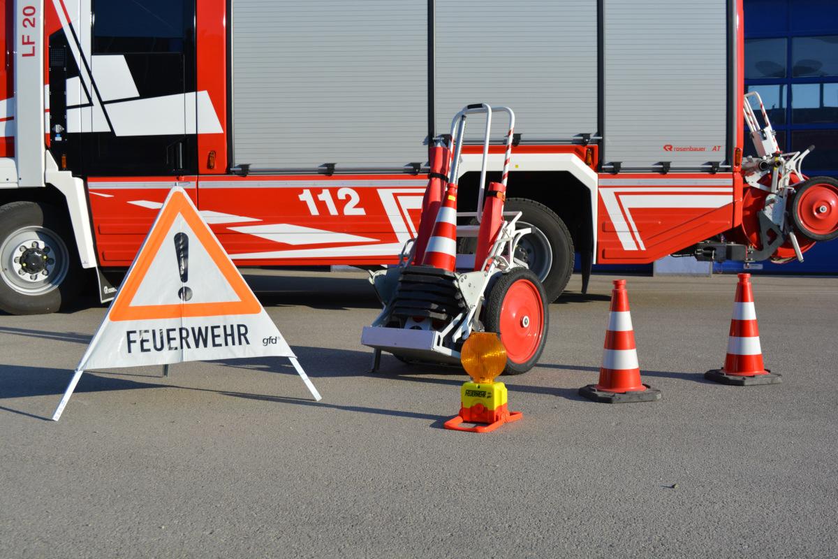 Löschgruppenfahrzeug LF 20 - Verkehrssicherungshaspel