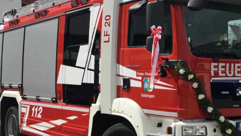 Fahrzeugsegnung – Löschgruppenfahrzeug LF20