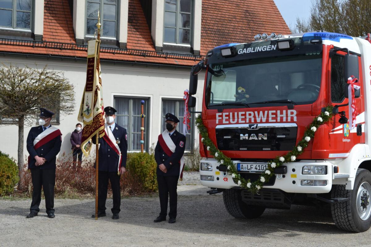 Segnung Löschgruppenfahrzeug LF20